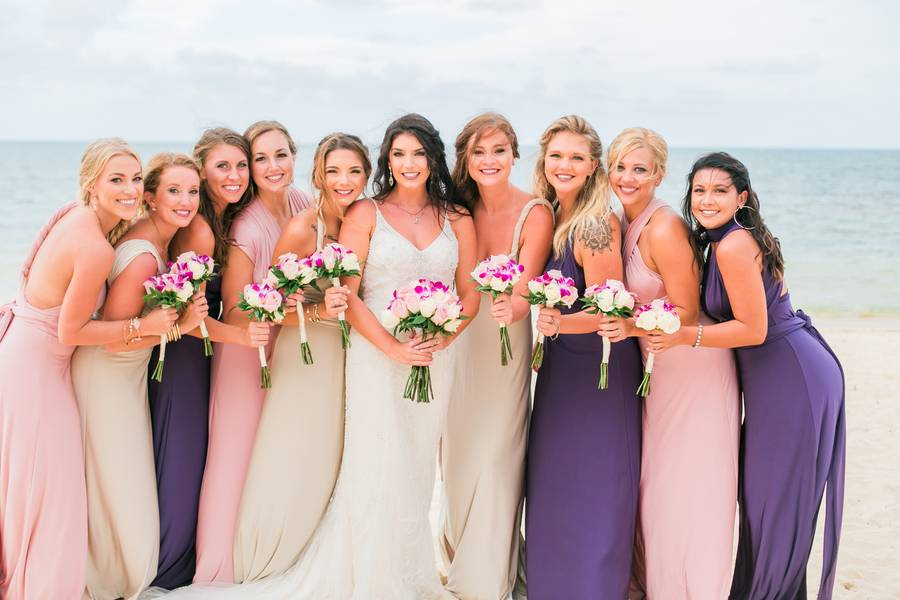 Choosing the Best Bridesmaid Dresses for Your Destination Beach Wedding