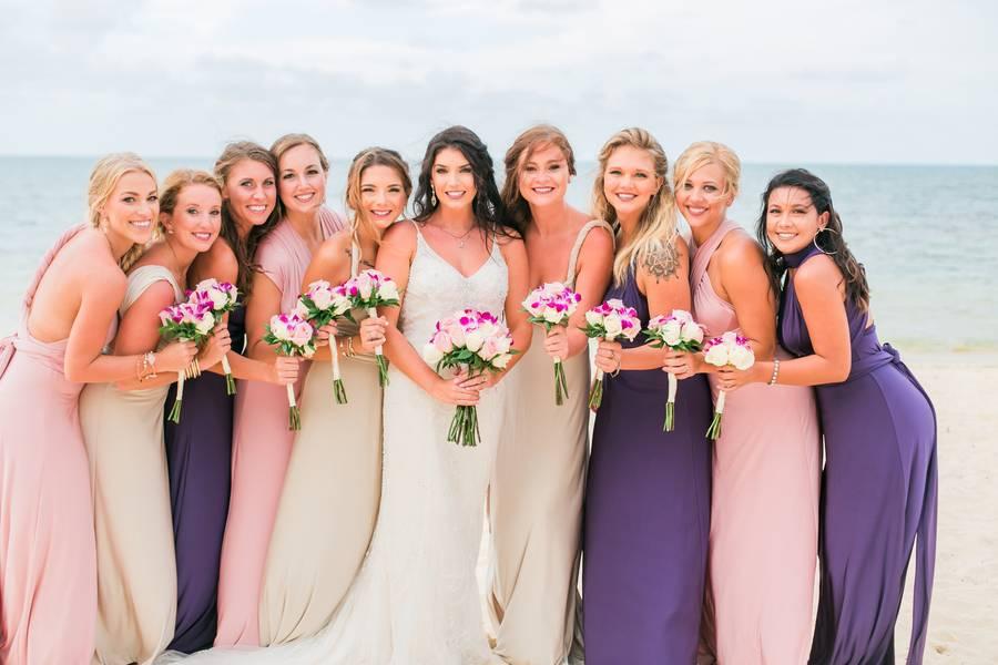 Choosing the Best Bridesmaid Dresses for Your Destination Beach Wedding