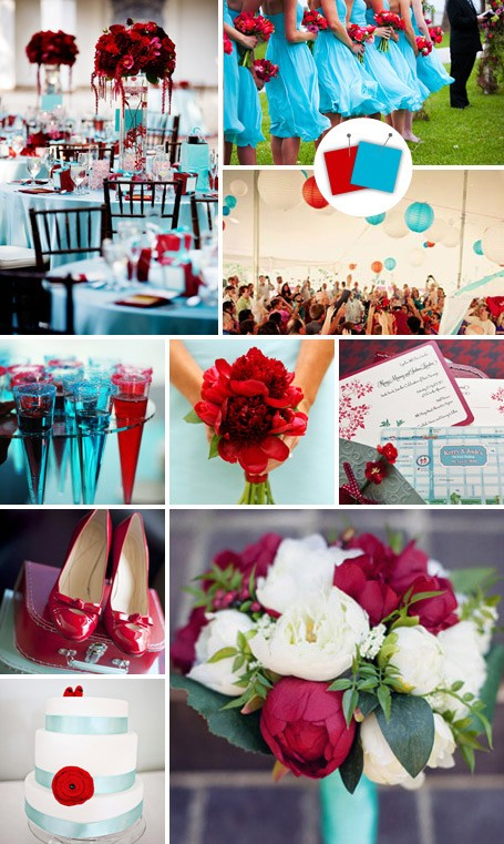 Most Beautiful Beach Wedding Color Schemes