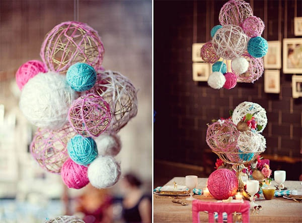 String Ball Decor