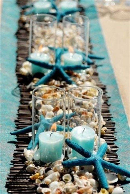 Beach Theme Table Decor