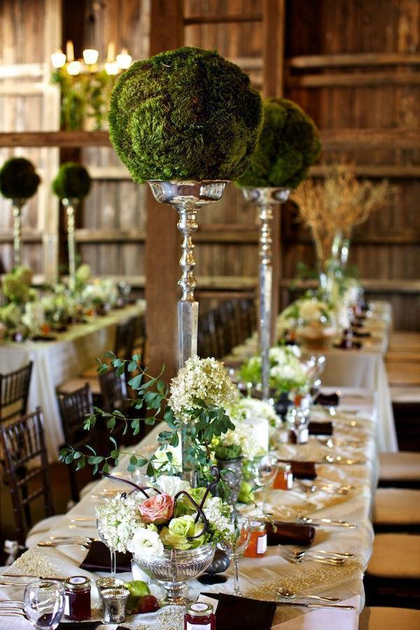 Large Topiary Centerpieces