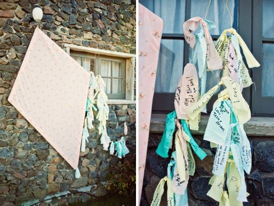 Wedding Kite Guestbook