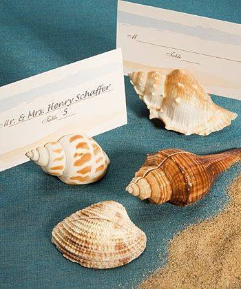Shell Place Card Holders