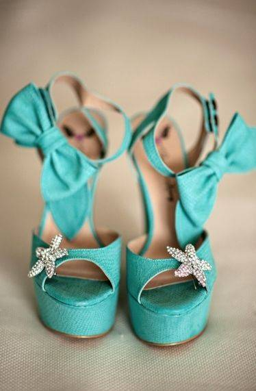Beach Theme Wedding Shoes