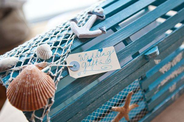 Sea Theme Wedding Decor