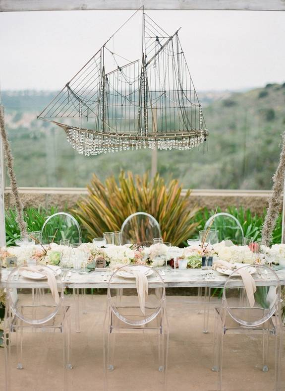 Ship Theme Wedding Decor