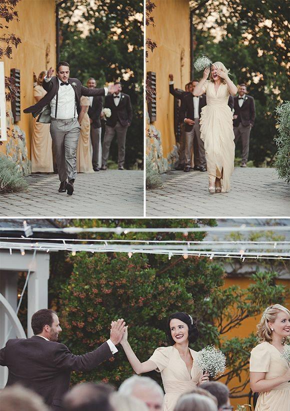 Dance Down Wedding Aisle