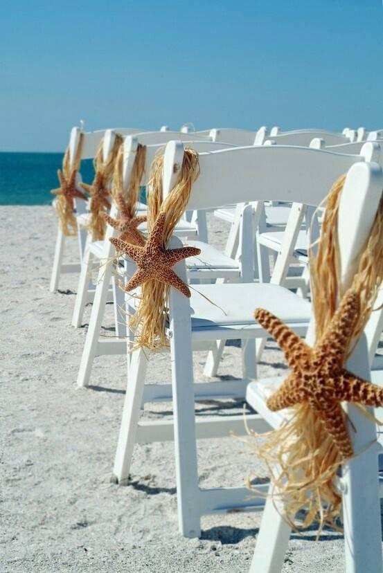 Starfish Chair Decor