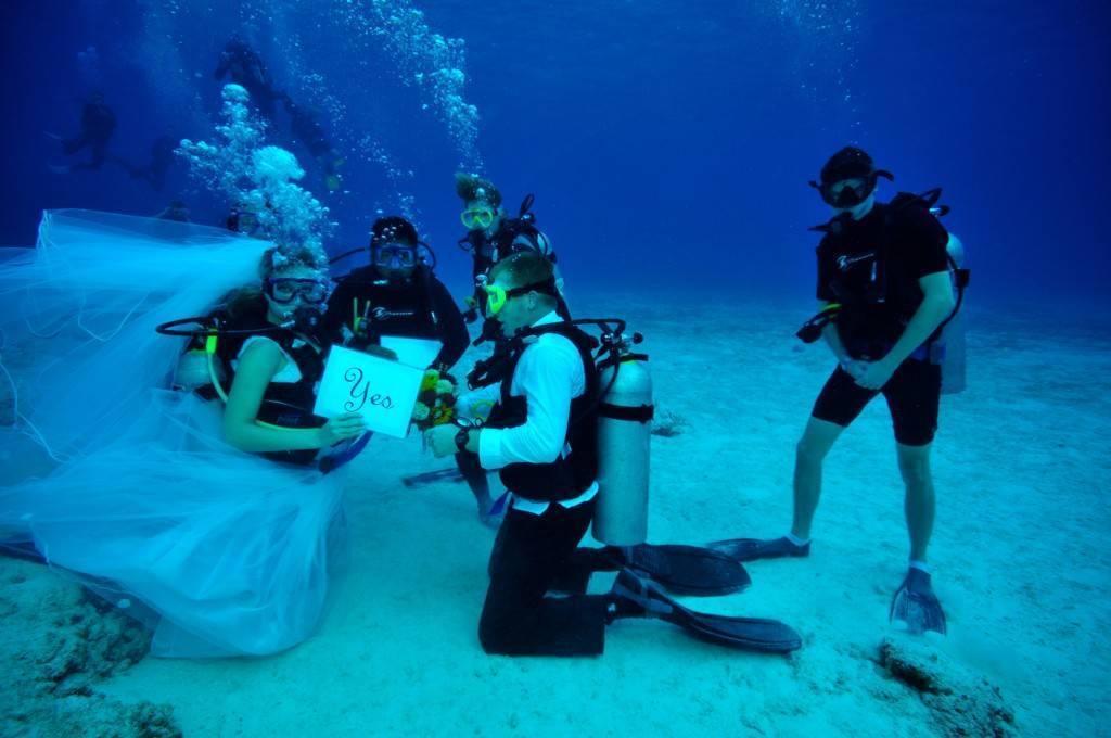 Underwater Wedding BB
