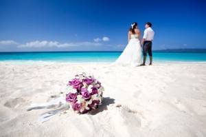 Happy Tropical Wedding
