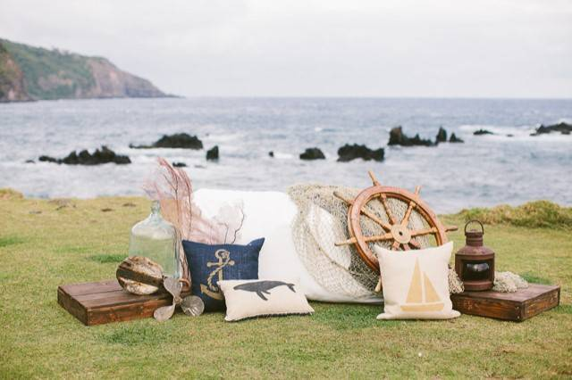 Fun Beach Wedding Theme: Shipwrecked