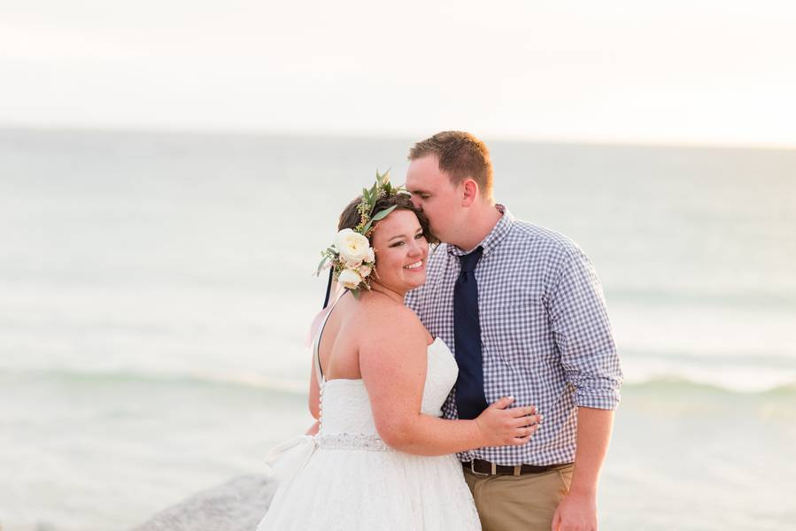 Post-Wedding Beachside Shoot