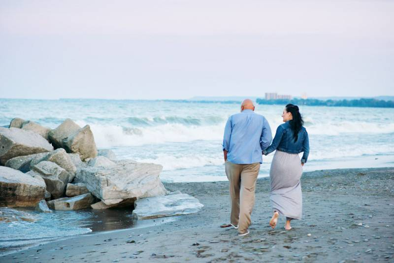 Beach Blues   Engagement Shoot