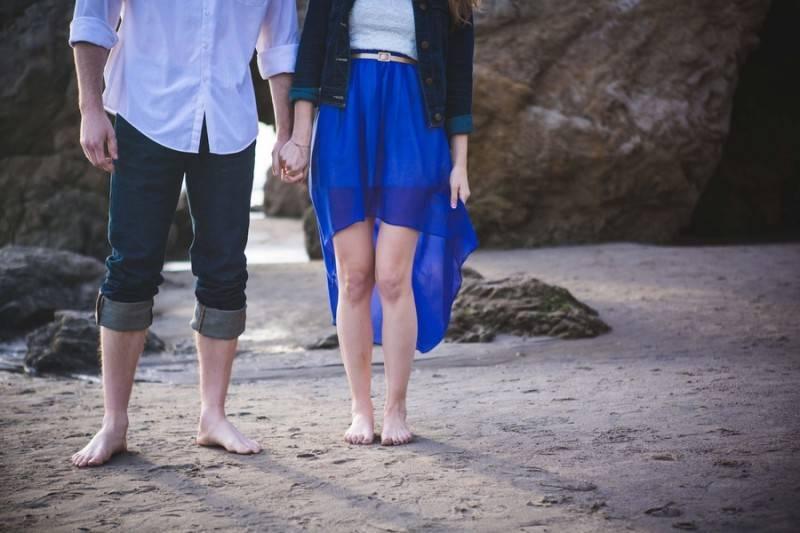 El Matador Beach & Placerita Canyon Engagement Shoot