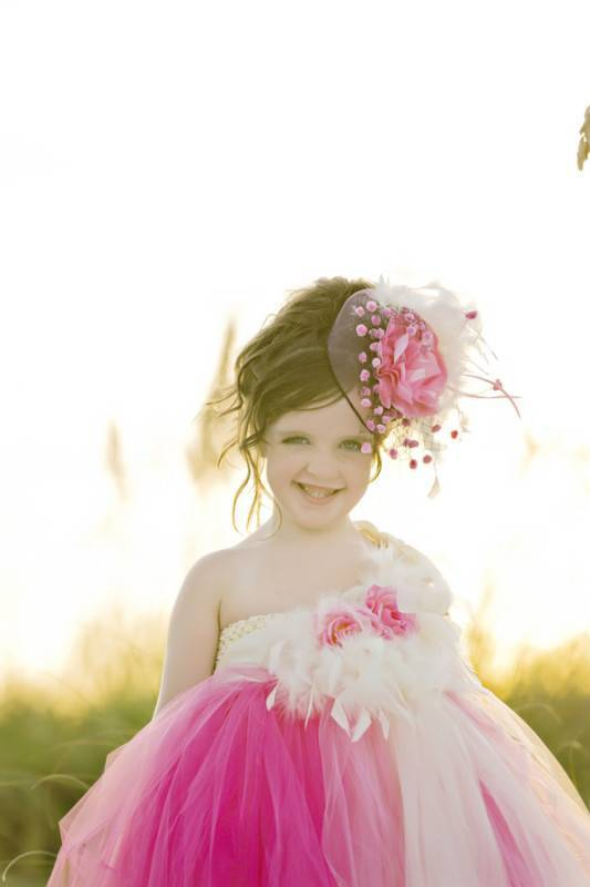 Couture Flower Girl   Styled Shoot