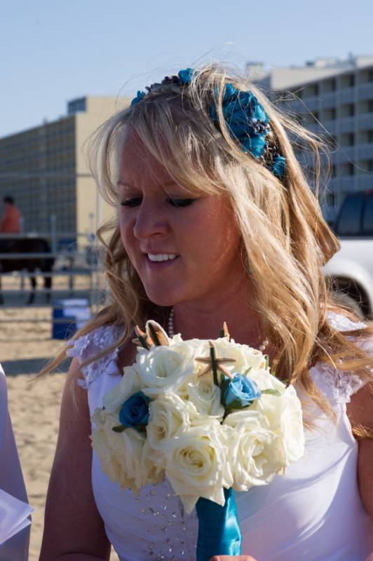 A Windy Virginia Beach Wedding