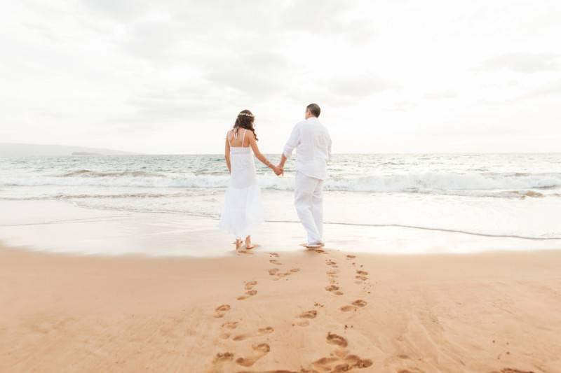 An All White Beach Affair