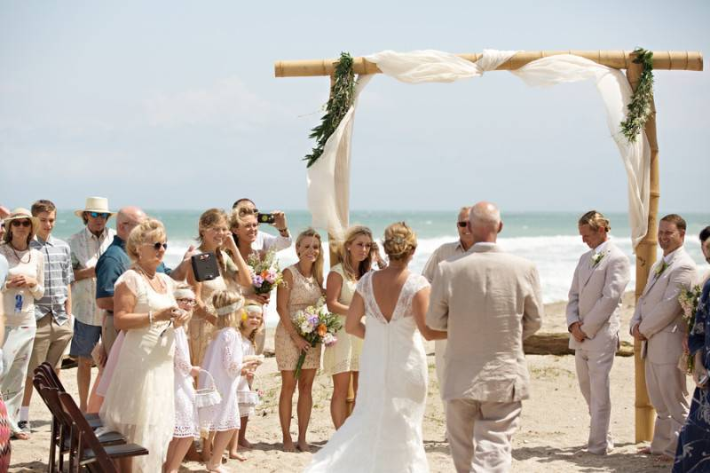 Vibrant Wedding Day
