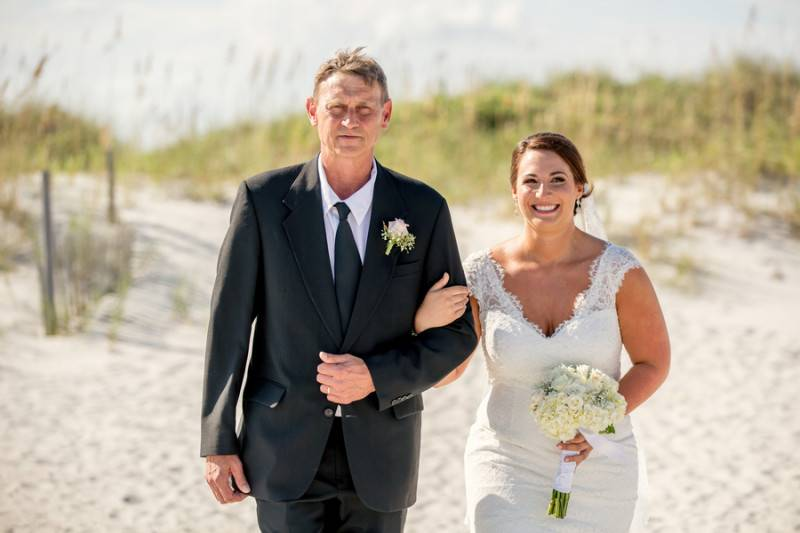 A Lovely Day for a Beach Wedding