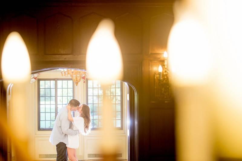 Elegant Settings   An Engagement Session
