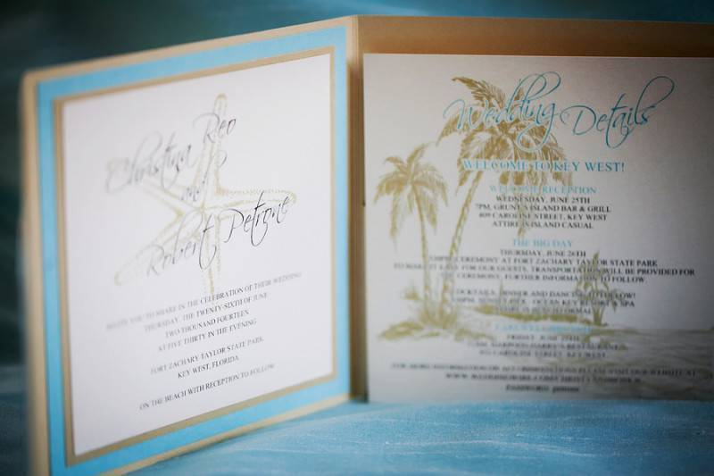 Elegant DIY Key West Wedding