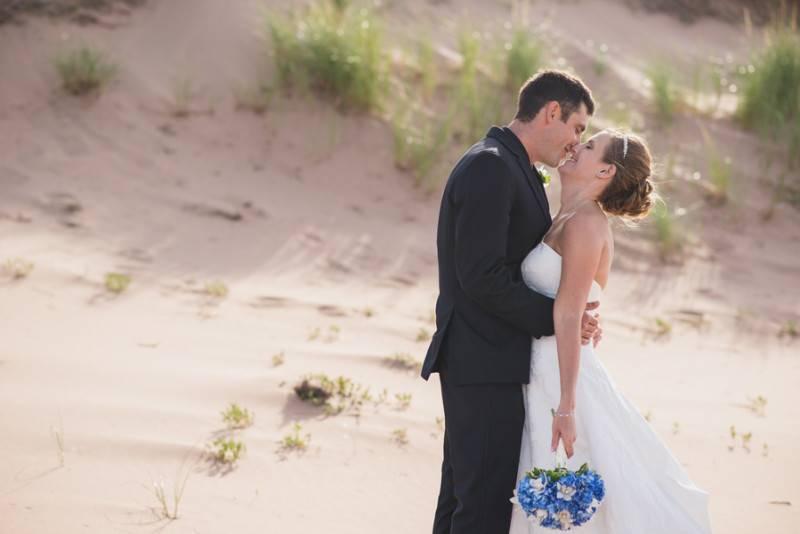 Red Sand Beach Wedding