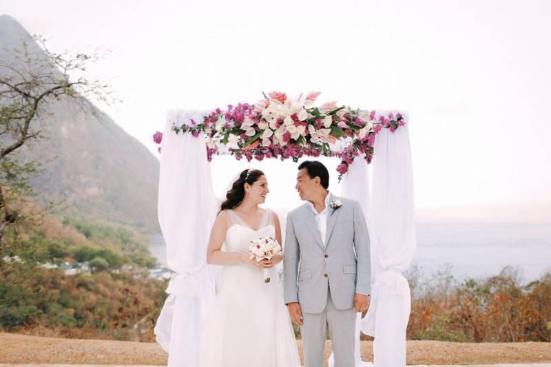 Sugar Beach Resort Wedding