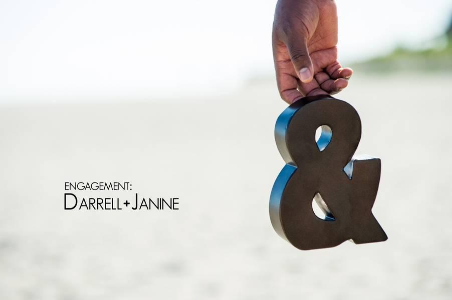engagement Darrell + Janine