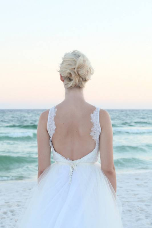 Florida Gulf Coast Bridal Shoot