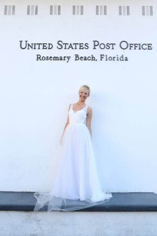 Florida Gulf Coast Bridal Shoot