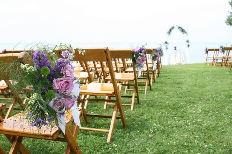 Classy And Casual Beach Wedding