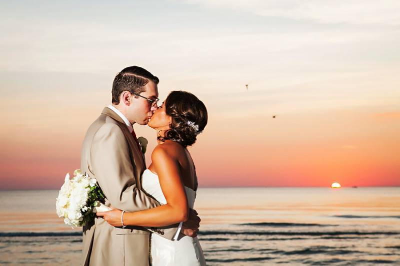 A Sunset And A Kiss