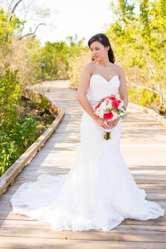 A Quaint Beach Wedding