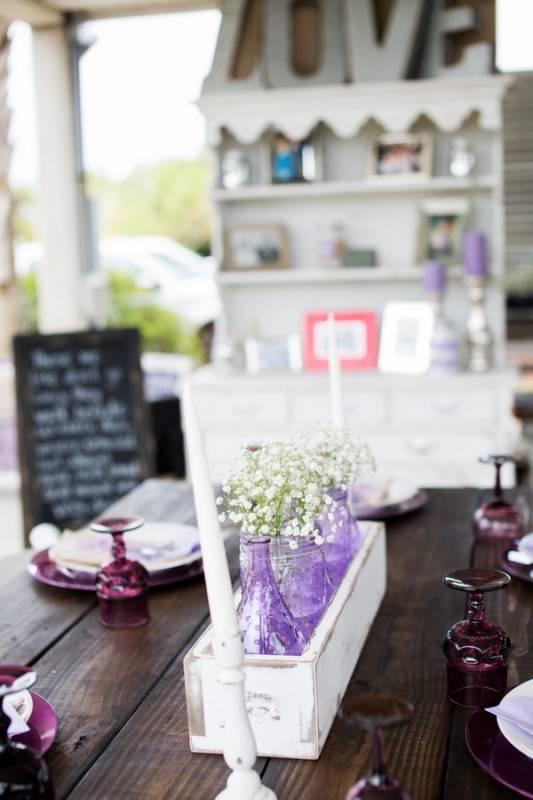 Lilac, Purple, and Rain