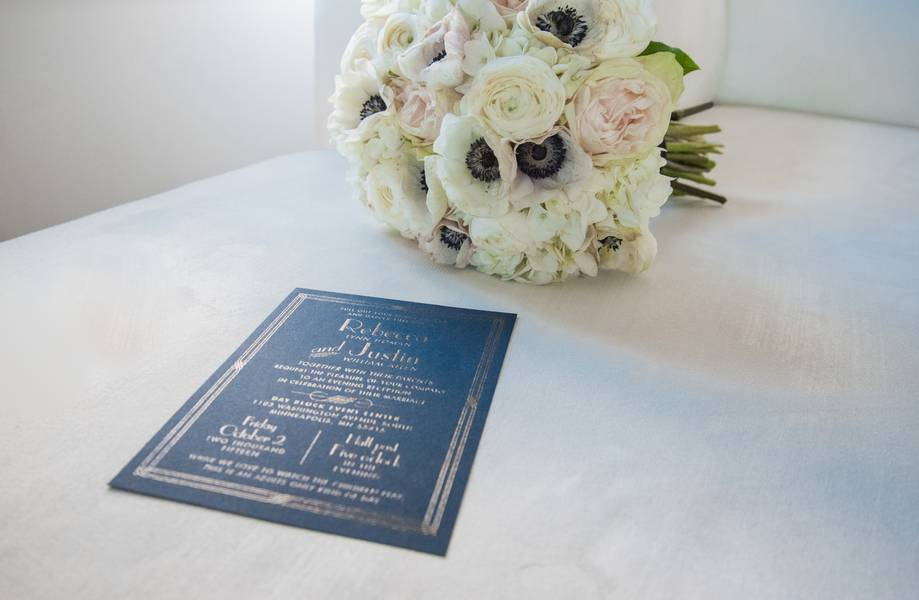 Great Gatsby Themed Hometown Reception
