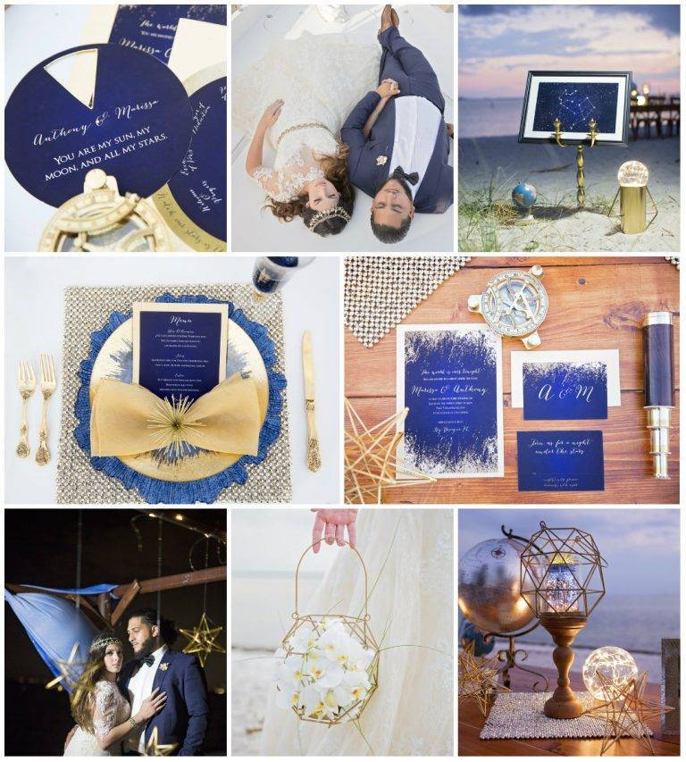 Styled Shoot: A Lovely Starry Night
