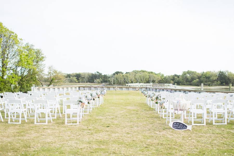 A Dainty and Nautical Wedding