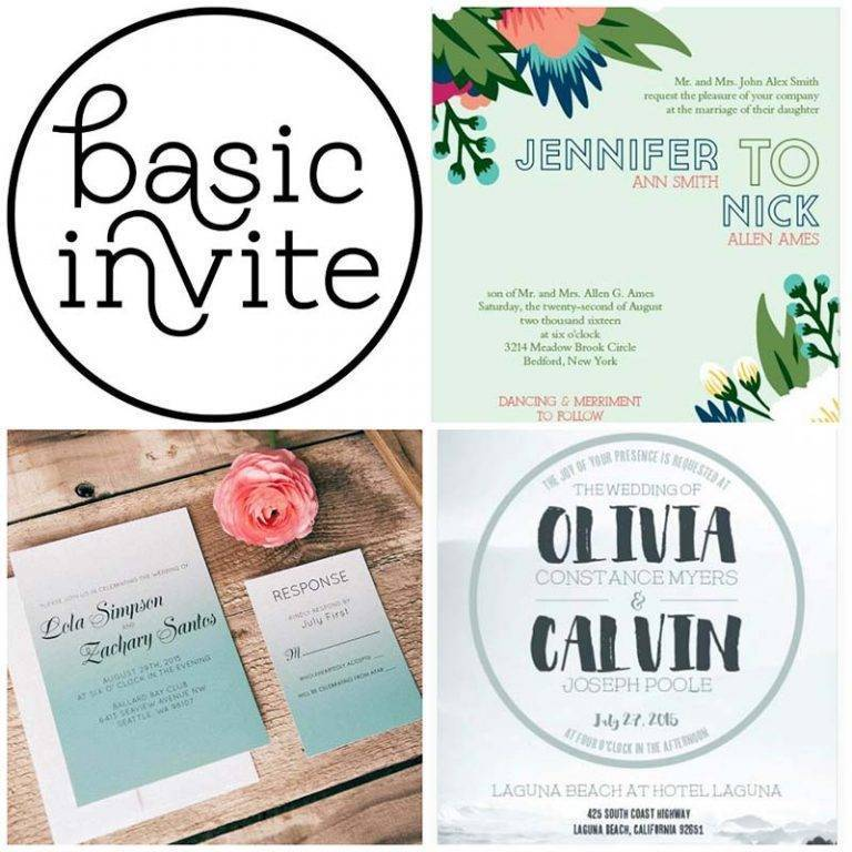Your Beach Wedding Invitation from Basic Invite
