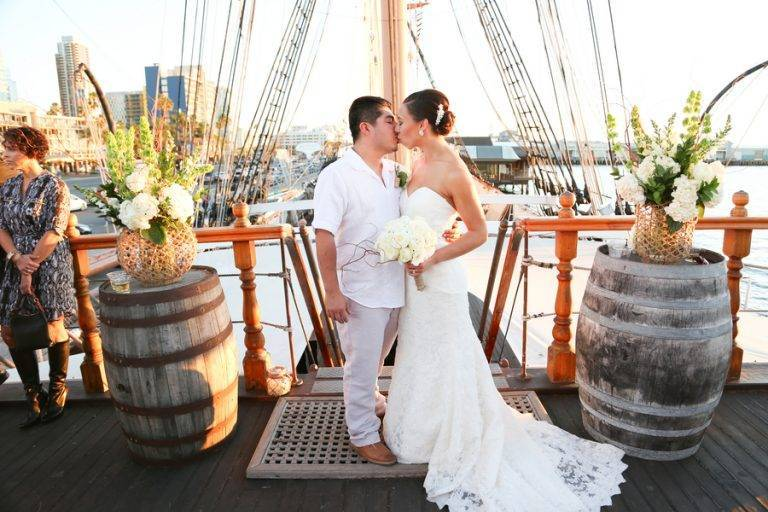 Romantic & Rustic Fall Nautical Wedding