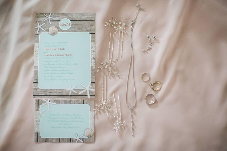 The Seaside Heights Nautical Wedding