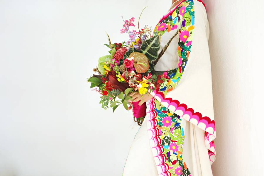 Vibrant and Mystical Wedding Inspiration in Sayulita Mexico