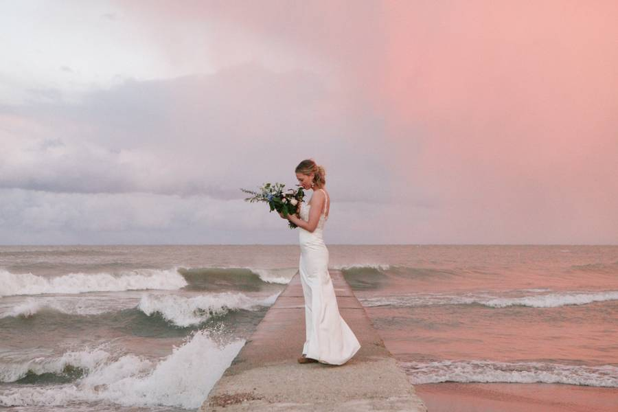 Cotton Candy Sky Styled Bridal Shoot