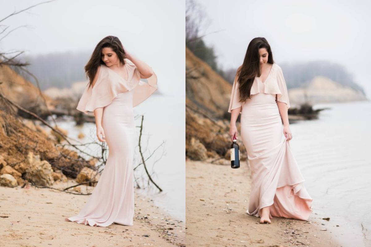 Styled Shoot | Chillin' By The Calvert Cliff