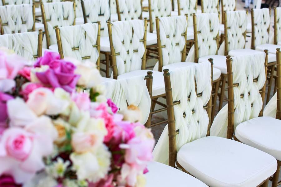 Stylish Oceanside Wedding