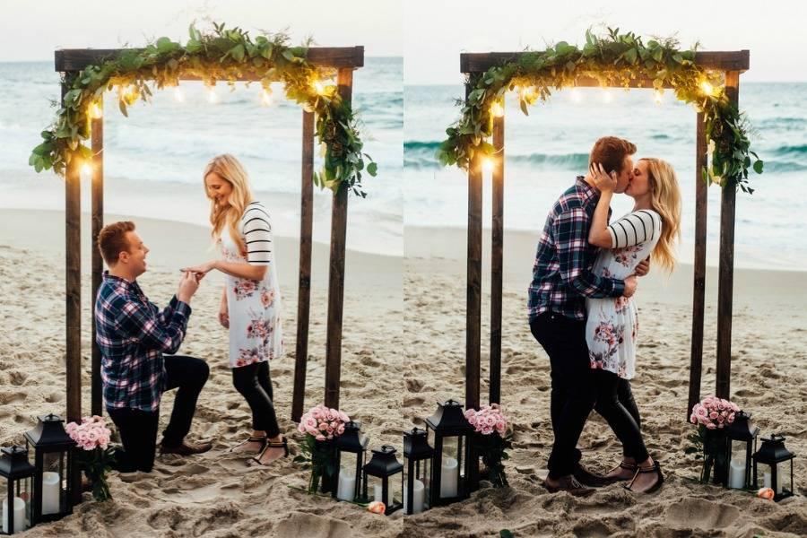 Amazing Beach Wedding and Engagement Photos