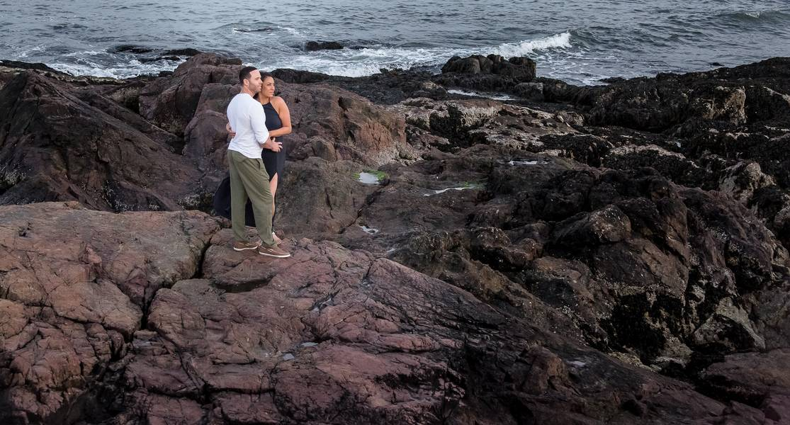 Modern Beach Romance