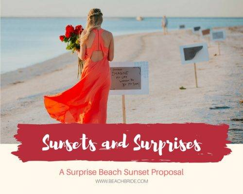 Surprise Beach Sunset Proposal