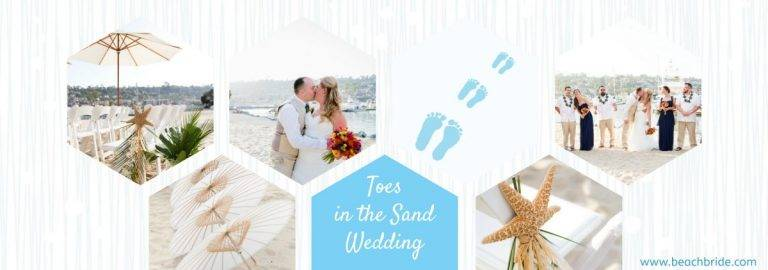 Toes-in-the-Sand Wedding