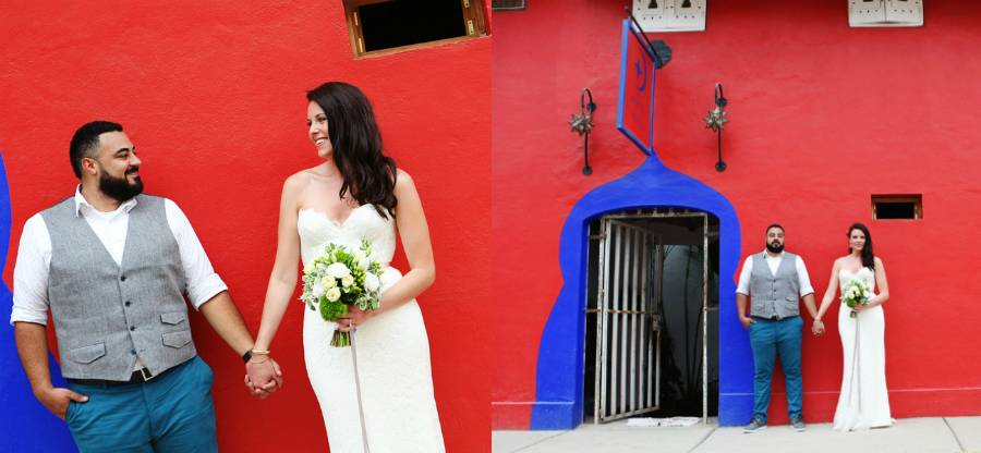 Modern Mexican Destination Wedding